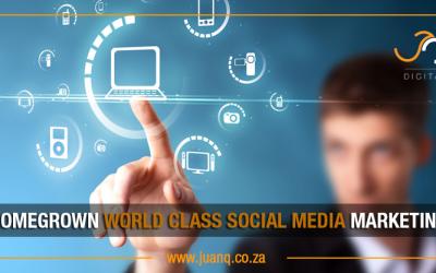 Homegrown world class Social Media consulting in Gauteng