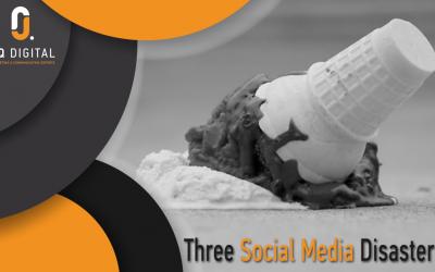 #Fail: Three Social Media Disasters